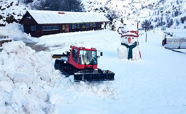 צפי לשלג בחרמון ובגולן (צילום: אתר החרמון)
