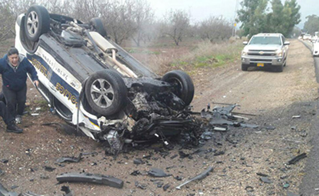 תהתאונה בצפון, אתמול (צילום: טארק דחלה)