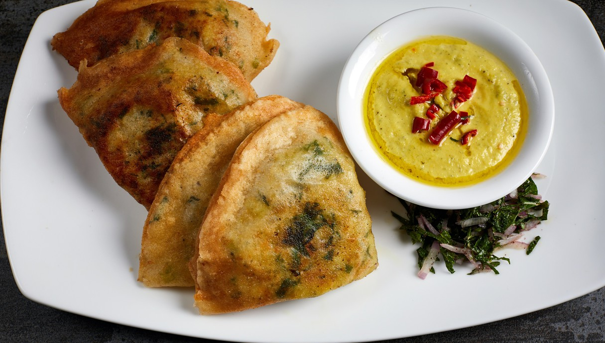 בוריק טונה ותפוחי אדמה (צילום: אמיר מנחם, מאסטר שף)