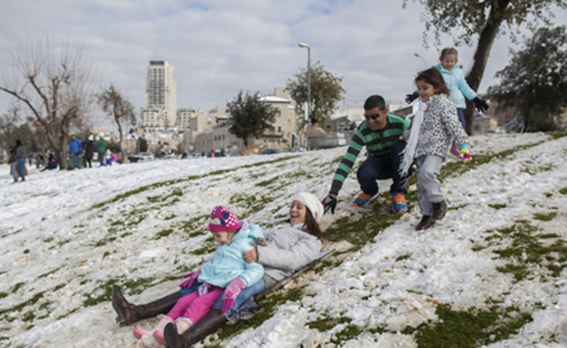 השלג יגיע לצפון? (צילום: פלאש 90)