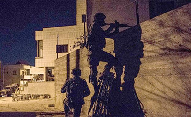 """פעילות הימ""""מ בג'נין (צילום: דובר צה""""ל)"""