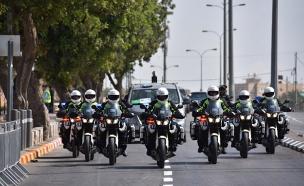 במשטרה נערכים לביקור בכותל (צילום: דוברות המשטרה)