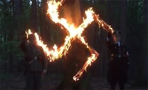 תיעוד מתוך הטקס שנחשף בטלוויזיה הפולנית (צילום: מתוך הטלוויזיה הפולנית)