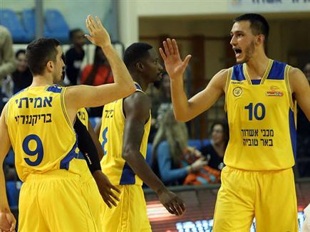אשדוד המשיכה לחגוג (מנהלת הליגה) (צילום: ספורט 5)