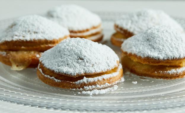 עוגיות מחלב עם תאנים ומוצרלה (צילום: אמיר מנחם, מאסטר שף)
