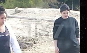 קיילי ג'נר בהריון (צילום: TMZ)