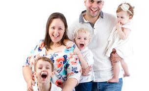 מאיה וינטה והמשפחה (צילום: יעל אלעד)