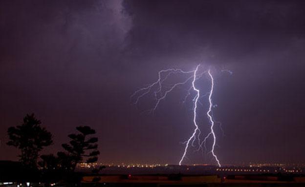 סערה (ארכיון) (צילום: אלי בצרי)