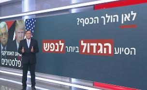 לאן הולך הסיוע האמריקני לפלסטינים? (צילום: החדשות)