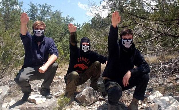 וודוורד וחבריו מצדיעים במועל יד (צילום: טוויטר)