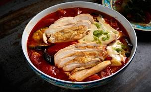 תבשיל ספיחה עם חזה עוף (צילום: אמיר מנחם, אוכל טוב)
