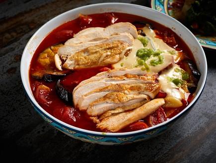 תבשיל ספיחה עם חזה עוף