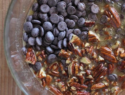 ריבועי שוקולד ופקאנים מהבלוג פאי בריבוע - המרכיבים