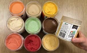 טיפסי סקופ גלידה  (צילום: ריטה גולדשטיין, אוכל טוב)