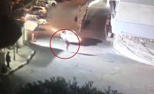 ירי במאבטח בבית חולים בנצרת