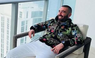 עומר אדם (צילום: instagram)