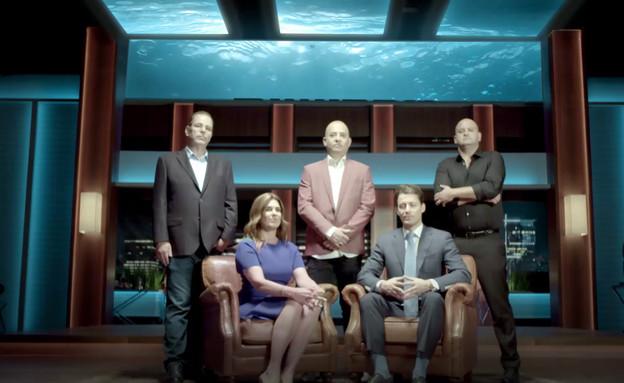 מי יצליח לשחות עם הכרישים? (צילום: מתוך