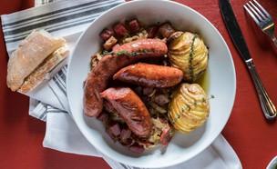 תבשיל קסולה צרפתי ביסטרו גרינברג (צילום: אנטולי מיכאלו, אוכל טוב)