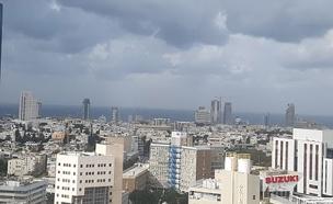 מעונן חלקית, חם ויבש, תל אביב (צילום: נדב גולדשטיין/TPS)