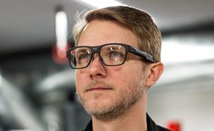 Vaunt - המשקפיים החכמים של אינטל (צילום: Vjeran Pavic, The Verge)
