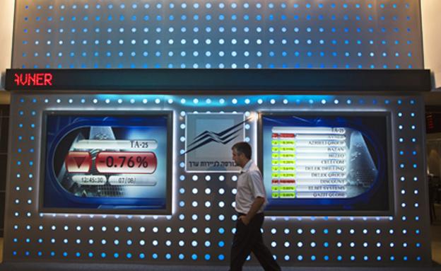 """המסחר בת""""א נפתח עם ירידות חדות (צילום: רויטרס)"""
