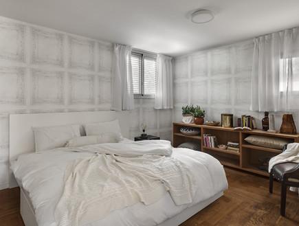 בית ינאי, עיצוב לורן רייק, סטיילינג אמיר שאול, חדר שינה
