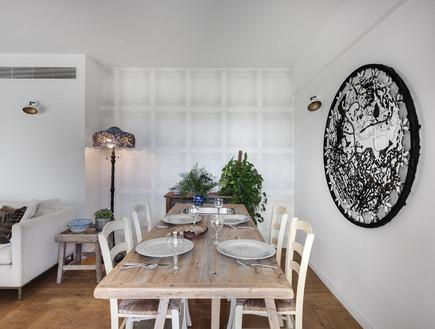 בית ינאי, עיצוב לורן רייק, סטיילינג אמיר שאול, פינת אוכל