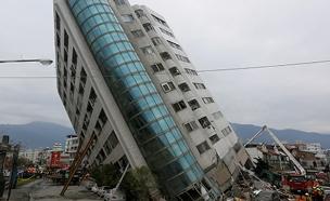 הבניין בטאיוואן (צילום: רויטרס)