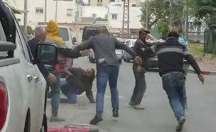 תיעוד הקטטה באשדוד (צילום: דוברות המשטרה)