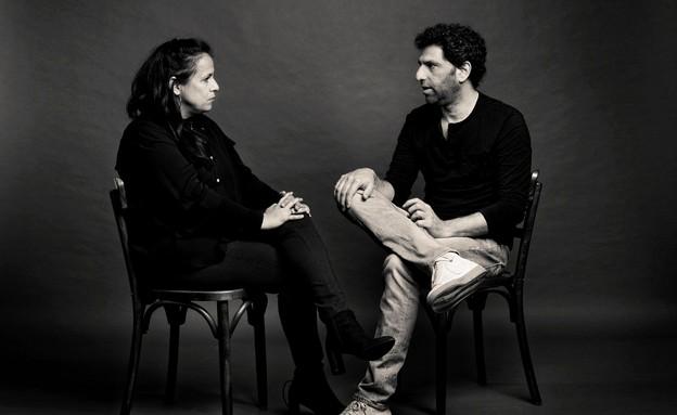 יוסי מרשק וקרן מגלית (צילום: יונתן בלום)