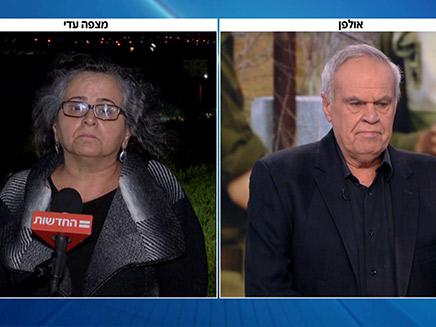 """הראיון המלא של ח""""כ סלימאן (צילום: החדשות)"""