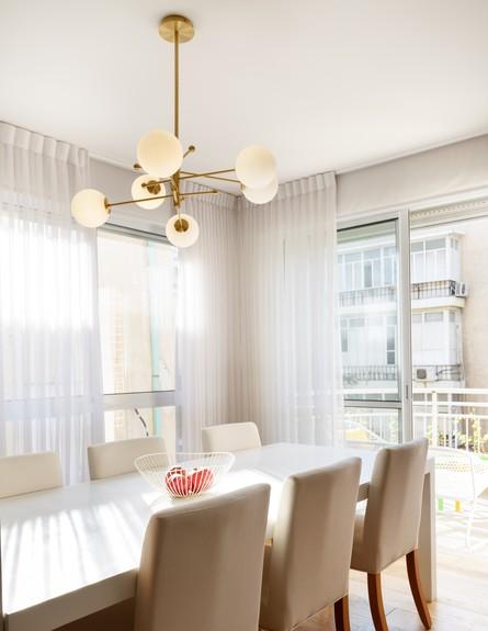דירה בשינקין, עיצוב טל מידן להמן, ג, פינת אוכל (צילום: אורית ארנון)