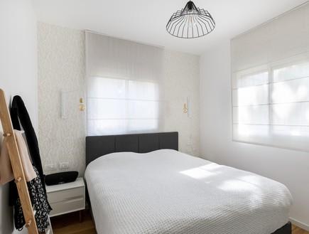 דירה בשינקין, עיצוב טל מידן להמן, חדר שינה