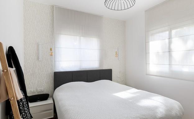 דירה בשינקין, עיצוב טל מידן להמן, חדר שינה (צילום: אורית ארנון)