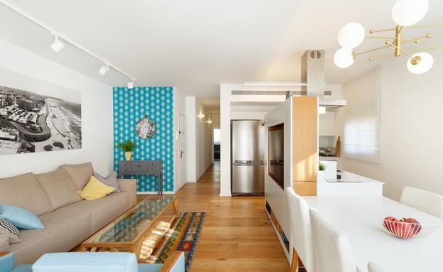 דירה בשינקין, עיצוב טל מידן להמן, פינת אוכל (צילום: אורית ארנון)