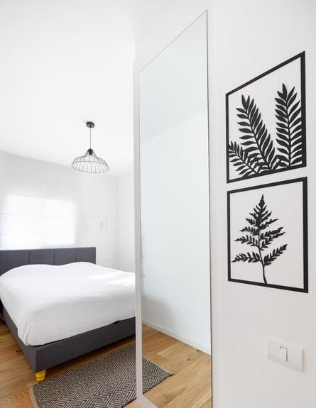 דירה בשינקין, עיצוב טל מידן להמן, ג, חדר שינה (צילום: אורית ארנון)