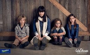 כל המשפחה נועלת weshoes (יח``צ: אינסטגרם, יח״צ חו״ל)