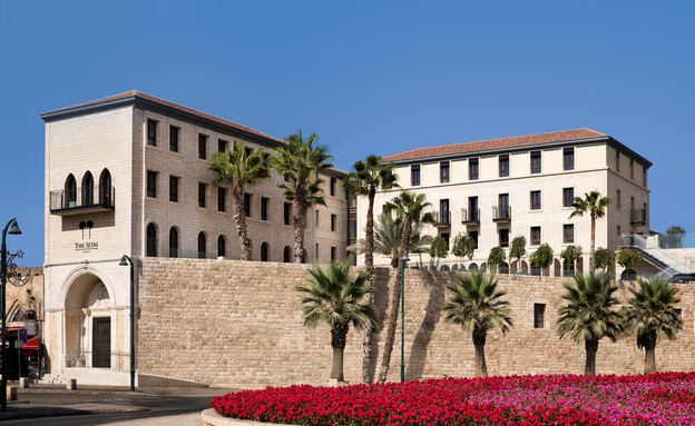 חזית מלון סטאי תל אביב (צילום: אסף פינצ'וק)