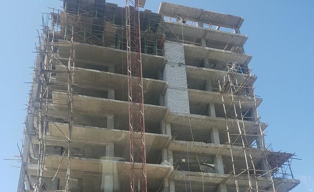 בנייה באדיס אבבה (צילום:  שמעון איפרגן   )