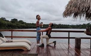 עדן סבן ואדם טל, אירוסים בופשה בברזיל (צילום: אינסטגרם, צילום מסך)