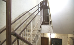 חדר מדרגות (צילום: חדשות 2)