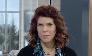 """ג'ודי מגיבה להמלצות בעניין אחיה נוני מוזס (צילום: מתוך """"חדשות הבוקר"""" , קשת 12)"""