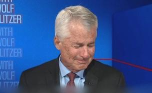 צפו ברגעי המשבר באמצע השידור (צילום: CNN)