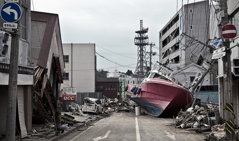 סכנות ביפן (צילום: OBJM, shutterstock)