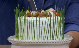 """עוגת סנדוויץ'  (צילום: מתוך """"בייק אוף ישראל"""", שידורי קשת)"""