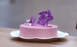 """עוגת מוס שקדים  (צילום: מתוך """"בייק אוף ישראל"""", שידורי קשת)"""