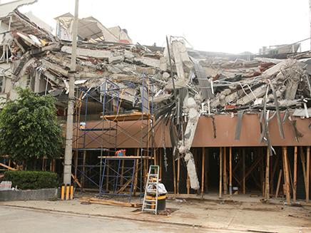 מנזקי רעידות האדמה הקודמות, מקסיקו (צילום: משרד החוץ)