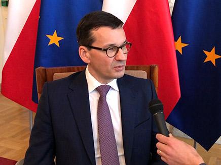 ראש ממשלת פולין מטיאש מורבייצקי