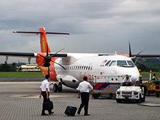 סוג המטוס שהתרסק באירן (צילום: רויטרס)