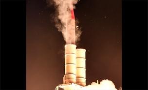 """ניסוי מערכת """"חץ 3"""" (צילום: אגף דוברות והסברה במשרד הביטחון)"""